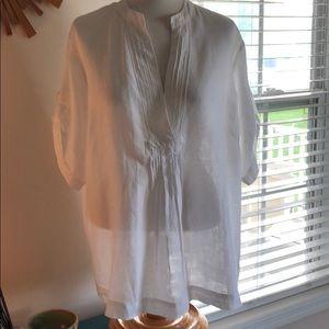 Michael Kors 100% Linen Tunic